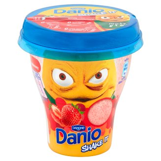 Danone Danio Shake It Strawberry Flavour Yoghurt Drink 240 g