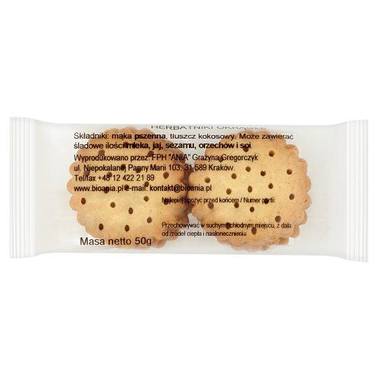 Round Biscuits 50 g