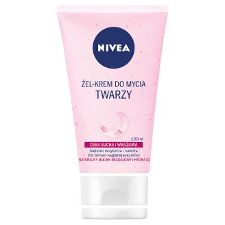 NIVEA Face Wash Gel-Cream Dry and Sensitive Skin 150 ml