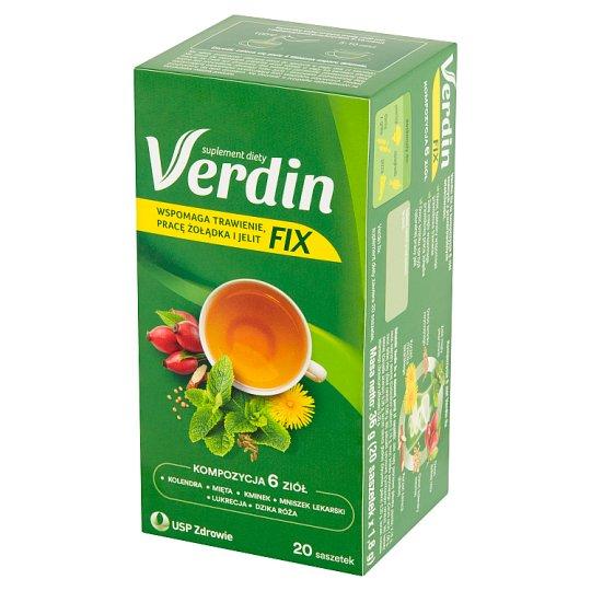 Verdin Fix Improving Digestion Tea Dietary Supplement 36 g (20 Sachets)