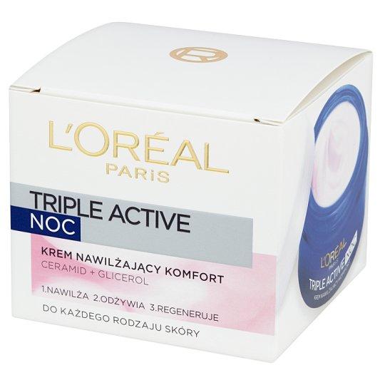 L'Oreal Paris Triple Active Night Comfort Moisturizing Cream 50 ml