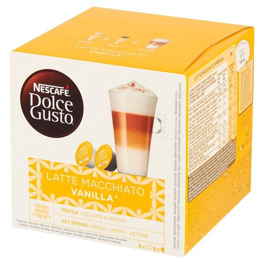 Nescafé Dolce Gusto Latte Macchiato Vanilla Kawa w kapsułkach 188,4 g (16 sztuk)