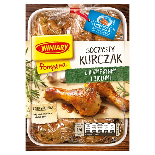 Winiary Pomysł na... Juicy Chicken in Rosemary and Herbs 35 g