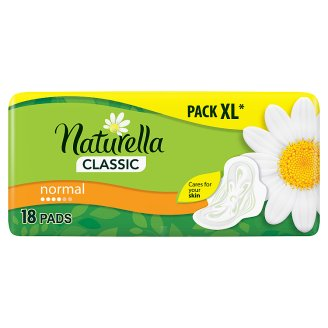 Naturella Classic Normal Camomile Sanitary Towel x18