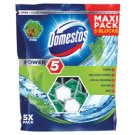 Domestos Power 5 Pine Kostka toaletowa 5 x 55 g
