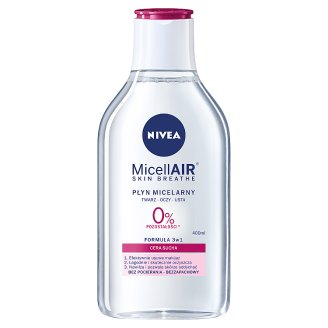 NIVEA MicellAir Skin Breathe Micellar Liquid Care for Dry Skin 400 ml