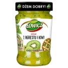 Łowicz Low Sugar Gooseberry and Kiwi Jam 280 g