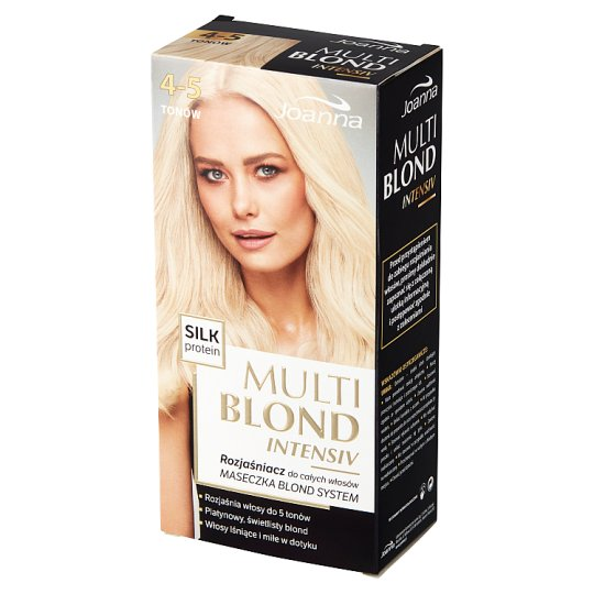 Joanna Multi Blond intensiv 4-5 Tones Whole Hair Hair Lightener