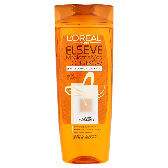 L'Oreal Paris Elseve Magiczna moc olejków Lekki szampon odżywczy 400 ml