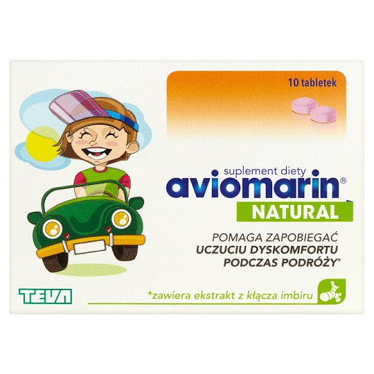 Aviomarin Natural Suplement diety 10 tabletek