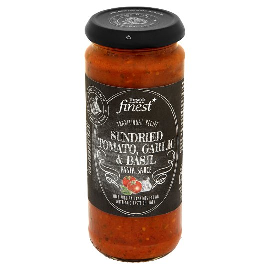 Tesco Finest Sundried Tomato Garlic & Basil Pasta Sauce 340 g