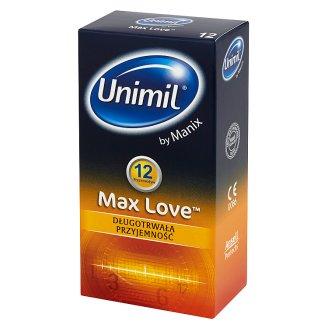 Unimil Max Love Condoms 12 Pieces