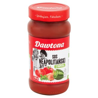 Dawtona Naples with Pepper Sauce 550 g