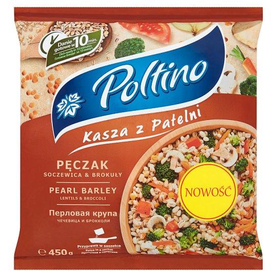 Poltino Kasza z patelni pęczak soczewica & brokuły 450 g