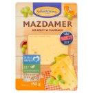 Włoszczowa Mazdamer ser żółty w plastrach 150 g