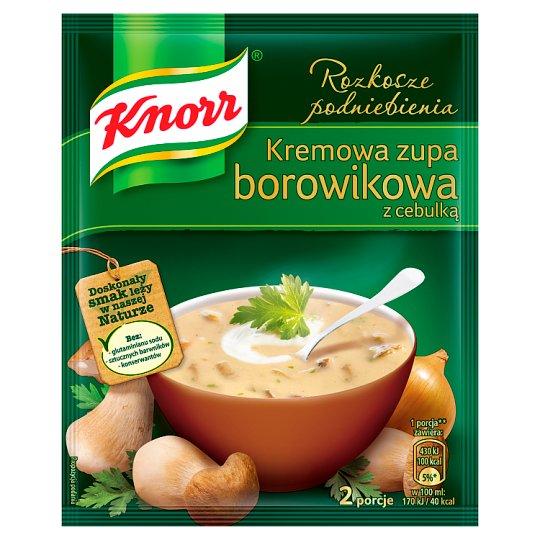 Knorr Rozkosze podniebienia Kremowa zupa borowikowa z cebulką 50 g