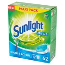 Sunlight All in 1 Tabletki do zmywarki 1085 g (62 sztuki)