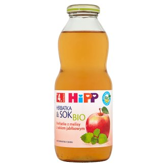 HiPP BIO Tea and Juice Bio Melissa with Apple Juice after 4 Months Onwards 0.5 L