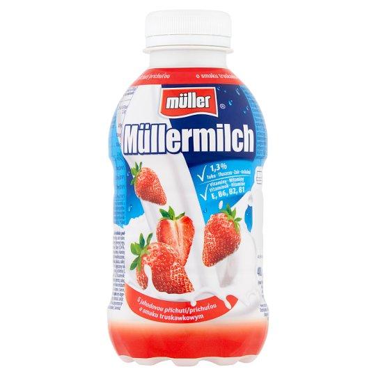 Müller Müllermilch Strawberry Flavour Milk Drink 400 g