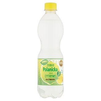 Tesco Polanicka Lemon Sparkling Drink 500 ml