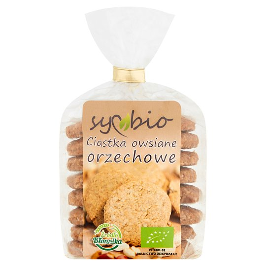 Symbio Nut Oat Biscuits 190 g