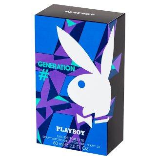 Playboy Generation Eau de Toilette for Him 60 ml