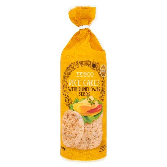 Tesco Wafle ryżowe z nasionami słonecznika 100 g