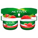 Danone Activia Strawberry Yoghurt 480 g (4 x 120 g)