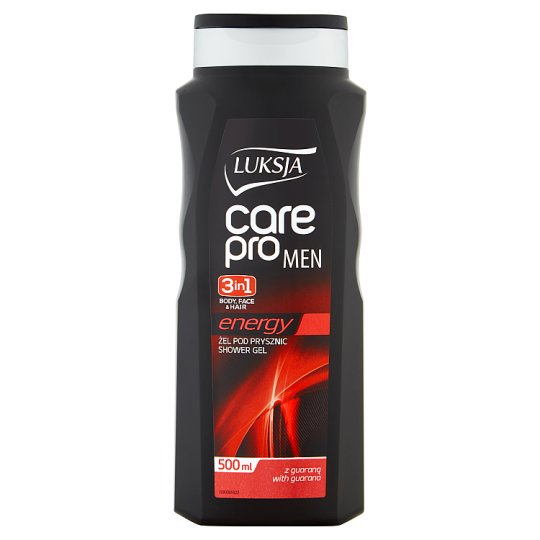 Luksja Care Pro Men Energy 3in1 Shower Gel 500 ml