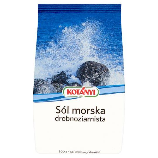 Kotányi Fine-Grained Sea Salt 500 g
