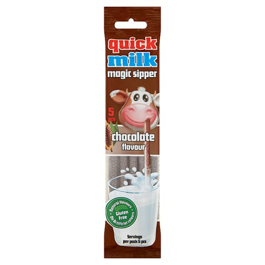 Quick Milk Magic Sipper Chocolate Flavour Milk Sipper 30 g (5 x 6 g)