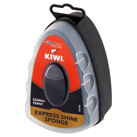 Kiwi Express Shine Black Sponge Glaze for Shoe 7 ml