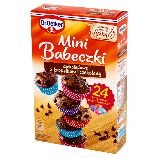 Dr. Oetker Chocolate with Chocolate Droplets Mini Muffins 245 g