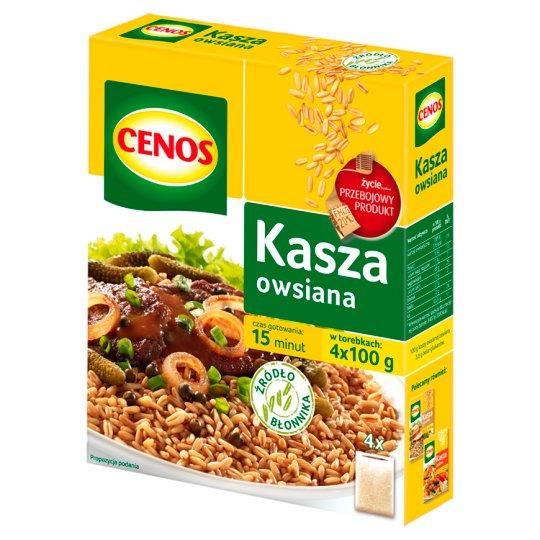Cenos Kasza owsiana 400 g (4 torebki) Tesco Ezakupy
