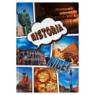 History A5 Squared 96 Pages Notebook