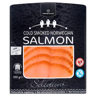 Marine Harvest Atlantic Salmon Cold Smoked Sliced 100 g