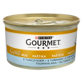 Gourmet Gold with Tuna Complete Food for Adult Cats 85 g