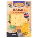 Włoszczowa Rajski ser żółty w plastrach 150 g