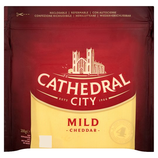 Cathedral City Mild Cheddar Cheese 200 g