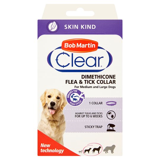 Bob Martin Clear Dimethicone Collar for Medium and Large Dogs