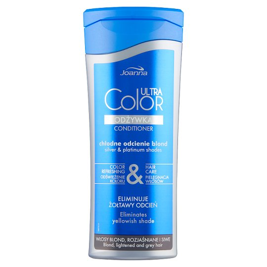 Joanna Ultra Color System Conditioner for Blond Lightened and Grey Hair 200 g