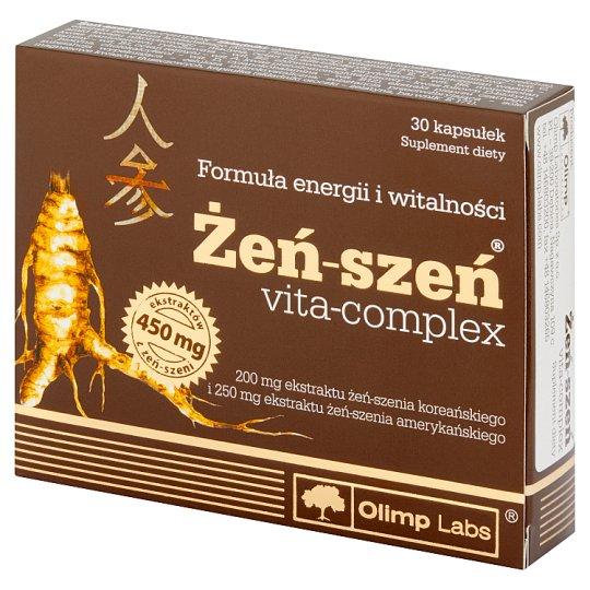 Olimp Labs Żeń-szeń vita-complex Suplement diety 22,8 g (30 sztuk)