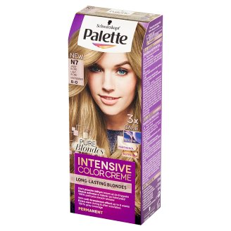 Palette Intensive Color Creme Hair Colorant Light Blonde N7