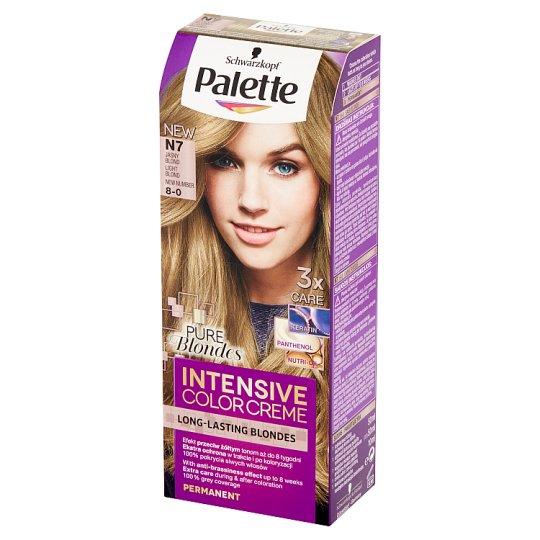 Palette Intensive Color Creme Farba do włosów Jasny blond N7