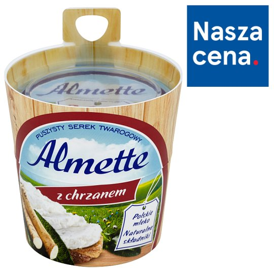 Almette with Horseradish Fluffy Cottage Cheese 150 g