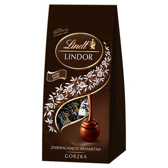 Lindt Lindor Dark Chocolate with Smooth Filling 98 g