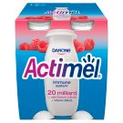 Danone Actimel Raspberry Fermented Milk 400 g (4 Pieces)