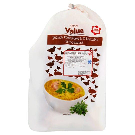 Tesco Value Duck Broth Portion