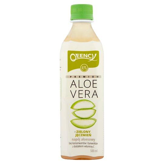 Qeency Premium Aloe Vera Aloe Drink + Green Barley 500 ml