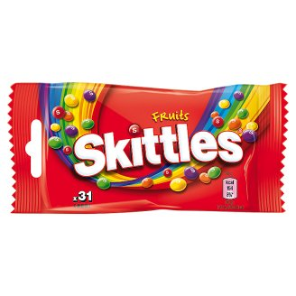 Skittles Fruits Chewing Candies 38 g (31 Pieces)